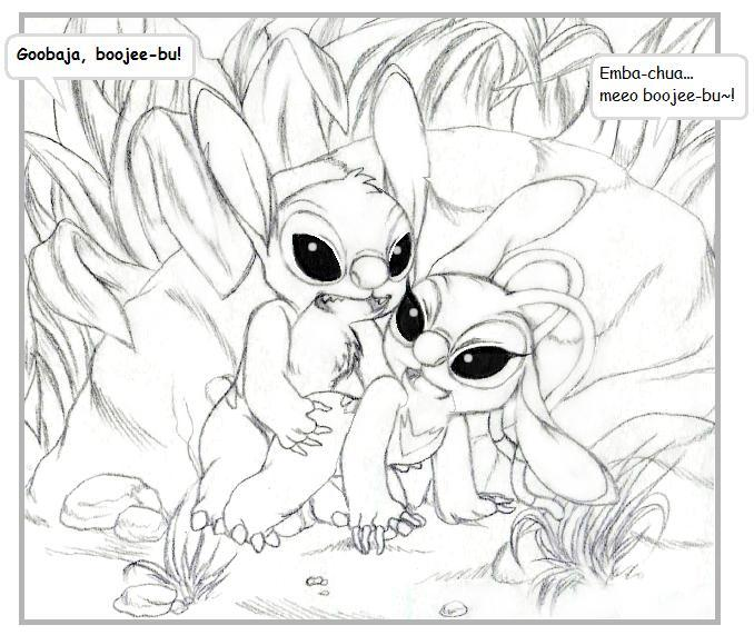 and experiments from lilo stitch Oversexed eeveelutions: the comic