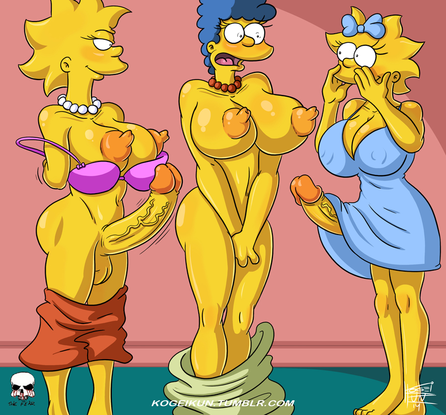 simpsons deleted large marge scene Nora to oujo to noraneko heart cg