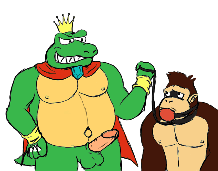kong candy kong and donkey The furies god of war