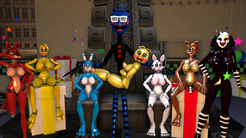 freddy's at nights 4 characters five Five night at freddy s4