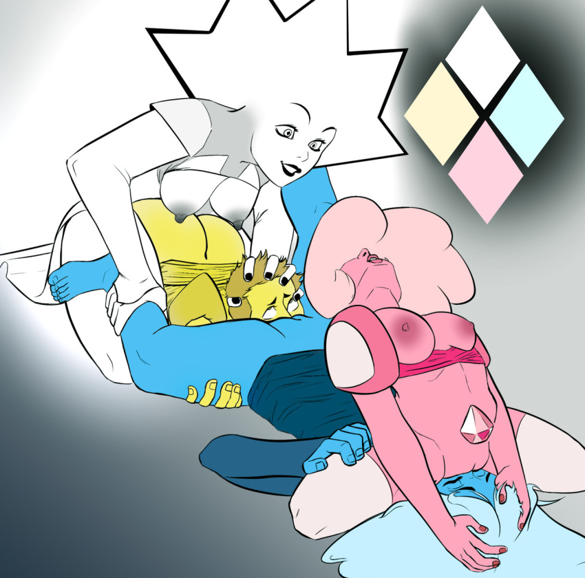 blue universe pink diamond steven and Sif, the great grey wolf