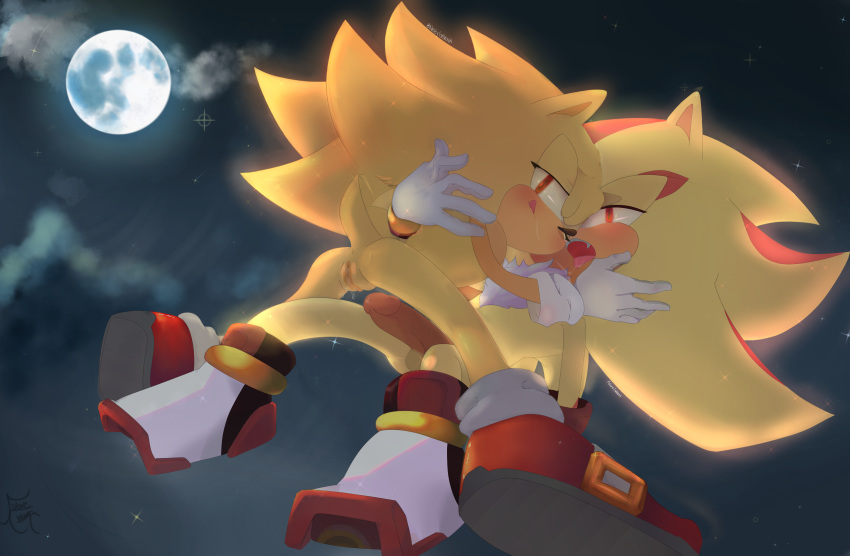 shadow hedgehog and the rouge Lobotomy corporation knight of despair