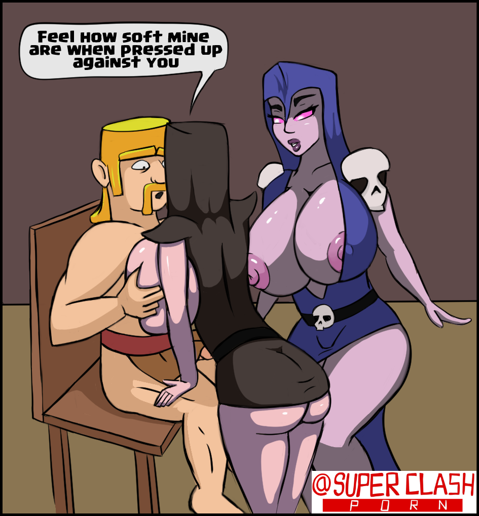 royale wizard vs clash witch Gay anal penetration close up