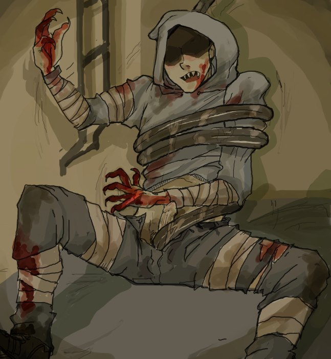 2 left from 4 dead spitter Katara in fire nation clothes